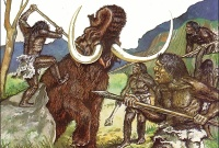 На Украине, обнаружен костяной дом неандертальцев