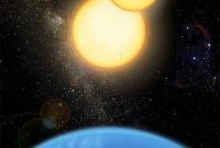 Найдены две экзопланеты, обращающиеся вокруг пар звёзд