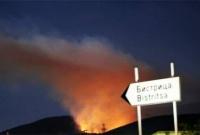 Пожары и тепловое нашествие в Болгарии