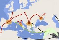 Выходцы с Ближнего Востока заселили Европу сразу после ледникового периода