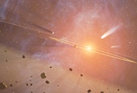 Кометы возле Кита совсем разбушевались